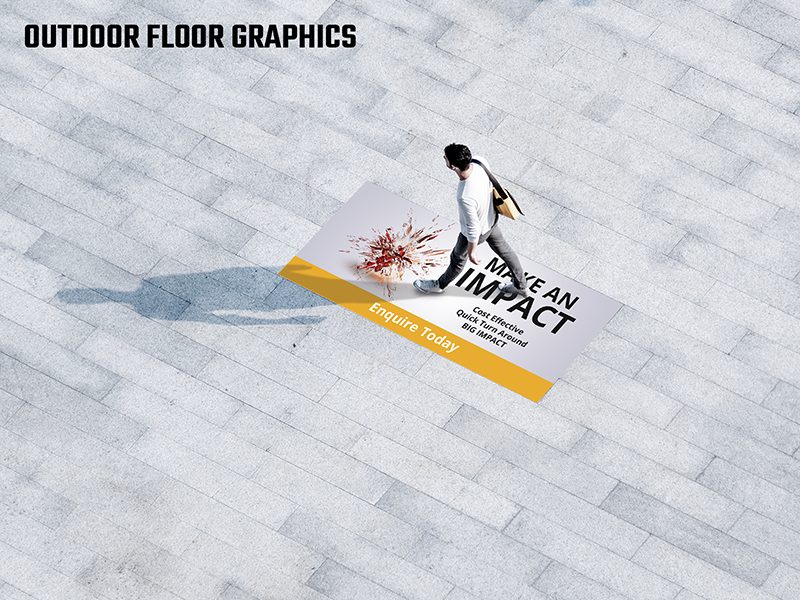 Footpath Graphics R12 Outdoor