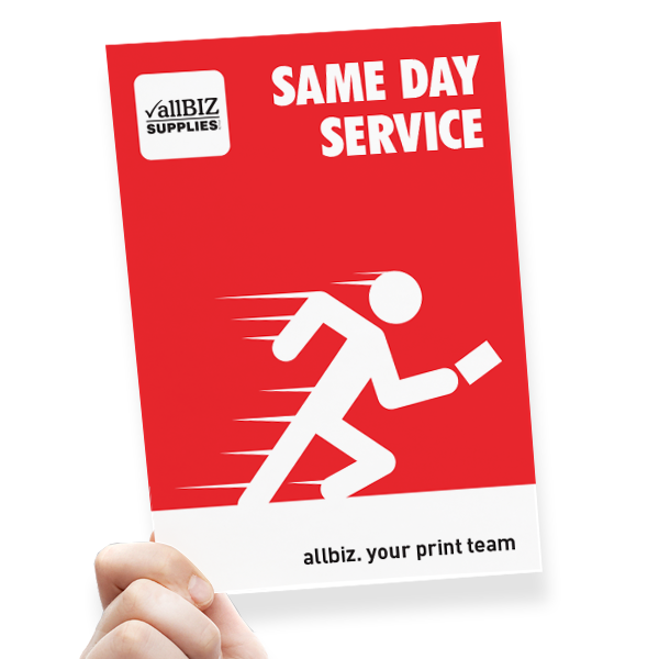 A5 Flyer - Same Day