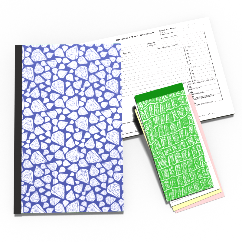 NCR Carbonless Books & Pads