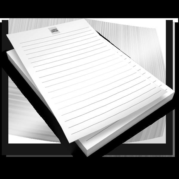 B&W Note Pads