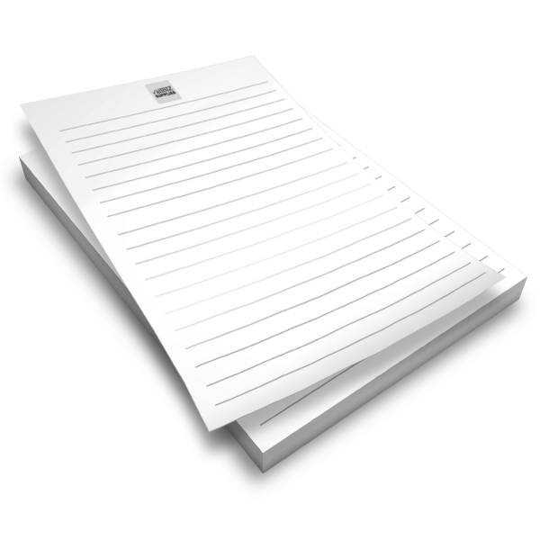 B&W Note Pads
