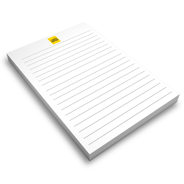 Colour Notepads 120gsm