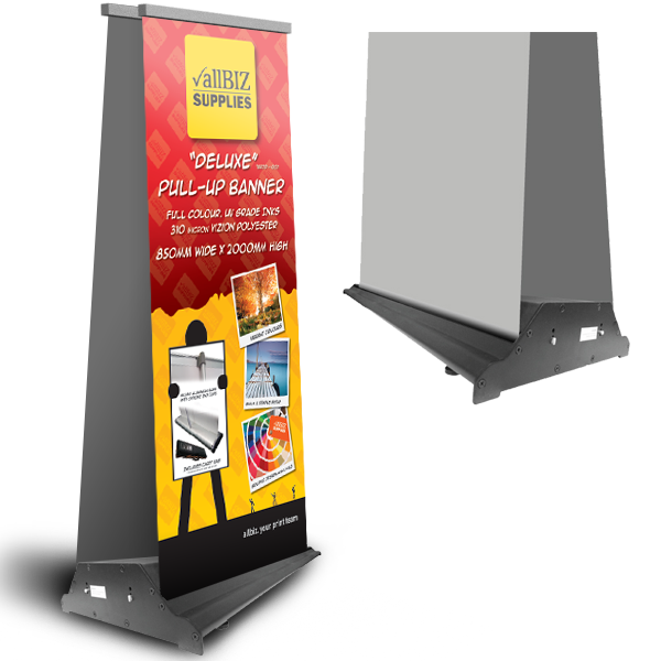 Super Value DOUBLE Pull up Banner