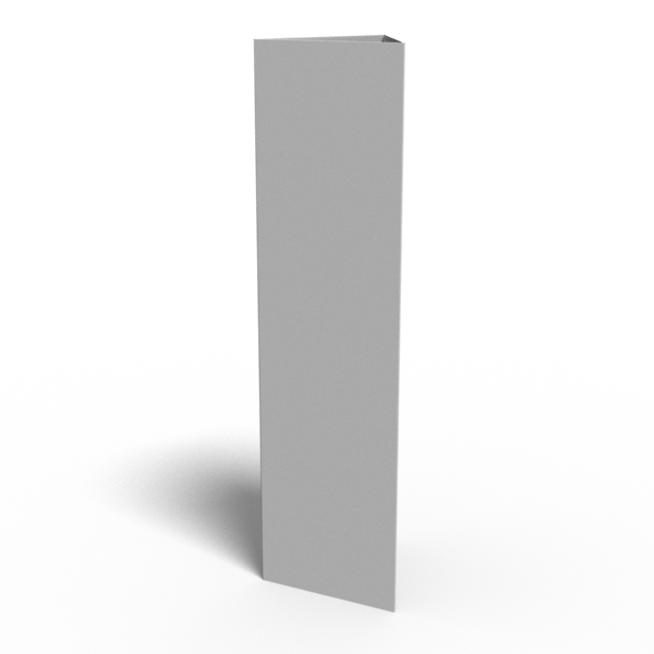 Bollard Sign UNIT ONLY (not printed)