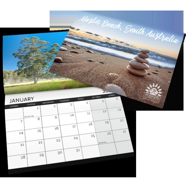 Hanging Calendar - Magazine Style