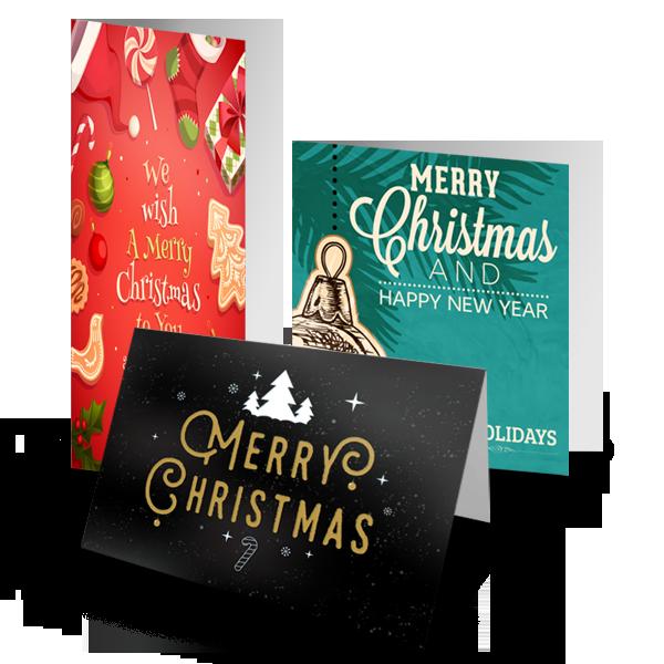 Christmas Card - Folded