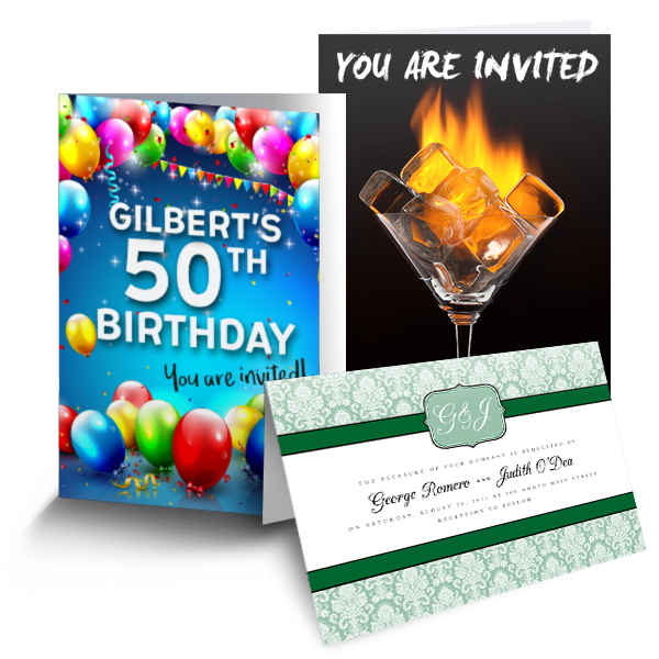 Invites - Folded