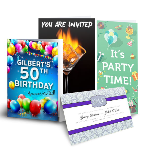 Party & Invitations -
