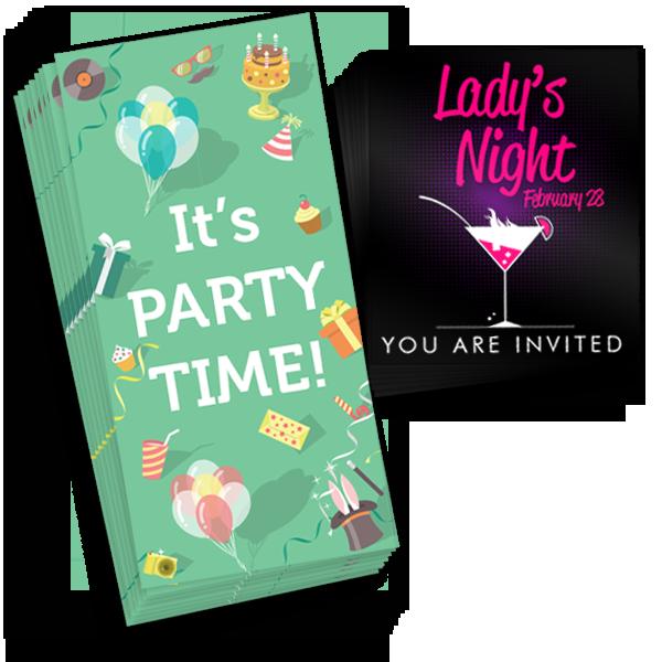 Invites - Flat