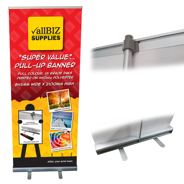 Super Value PULL UP BANNER