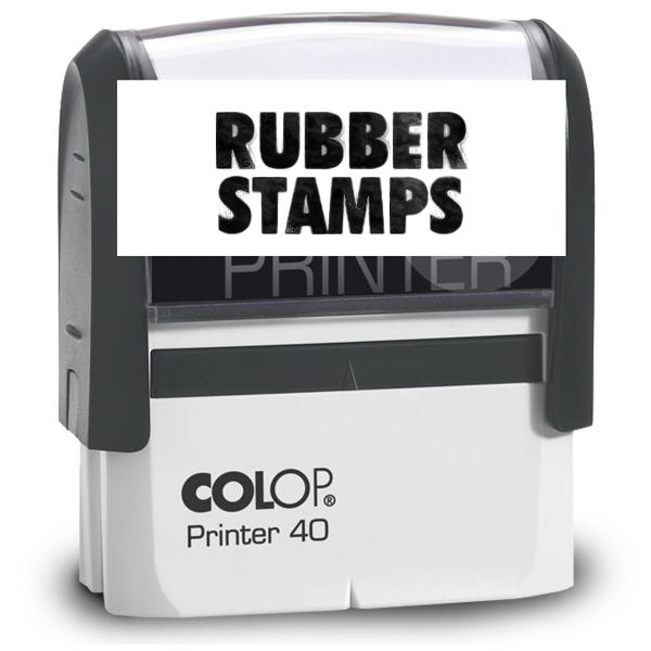 Rubber Stamps -