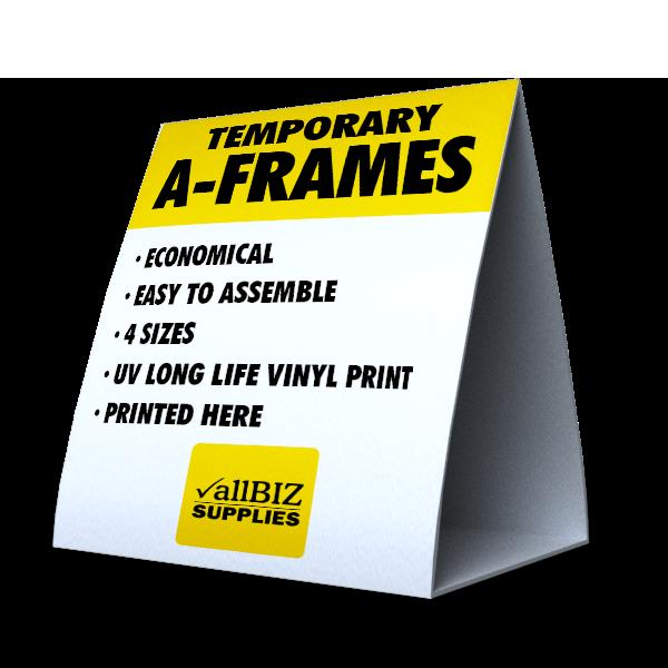 A-Frame Temporary