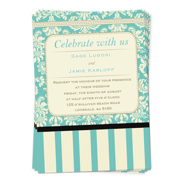 Wedding Invite  Flat
