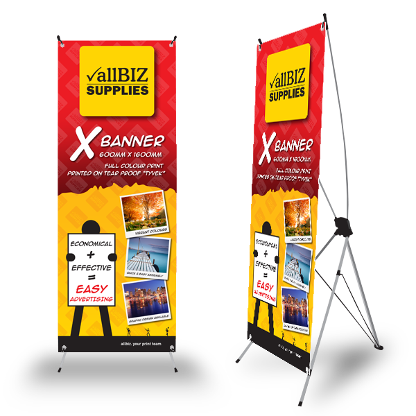 X-BANNER 600x1600 – Classic