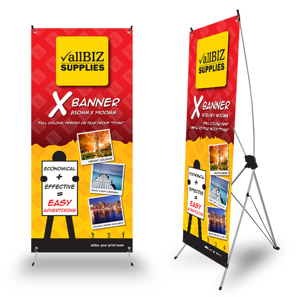 X-BANNER 850x1900 – Classic