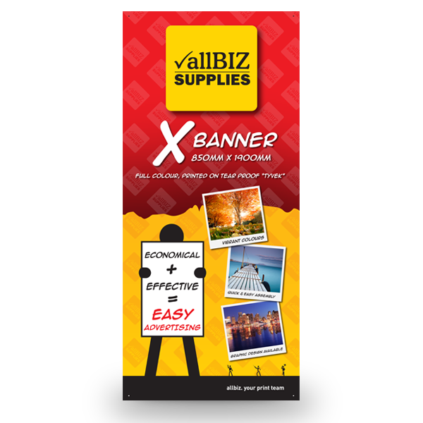 X-STYLE BANNER 850x1900 - Skin ONLY - Same Day
