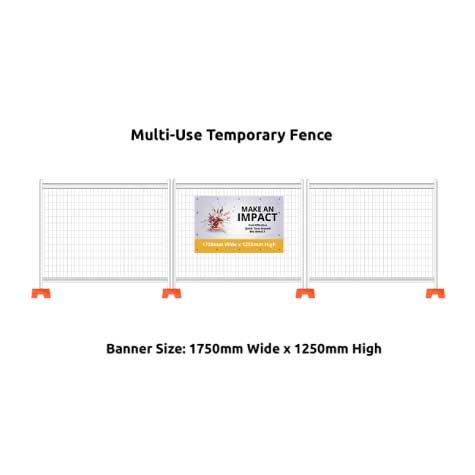 Multi-use Temporary Panel