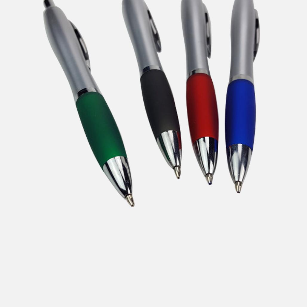Sliver Cucurbit Ball Pen 2