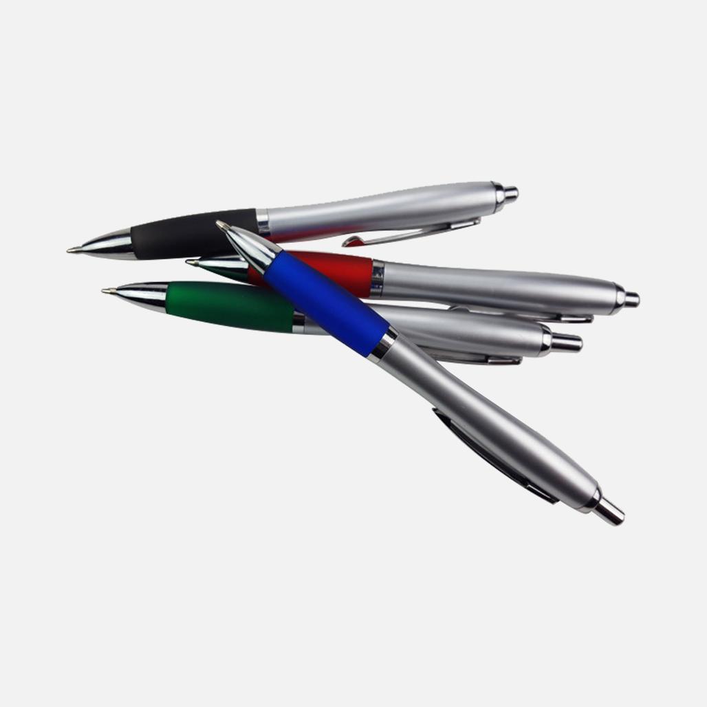 Sliver Cucurbit Ball Pen 3