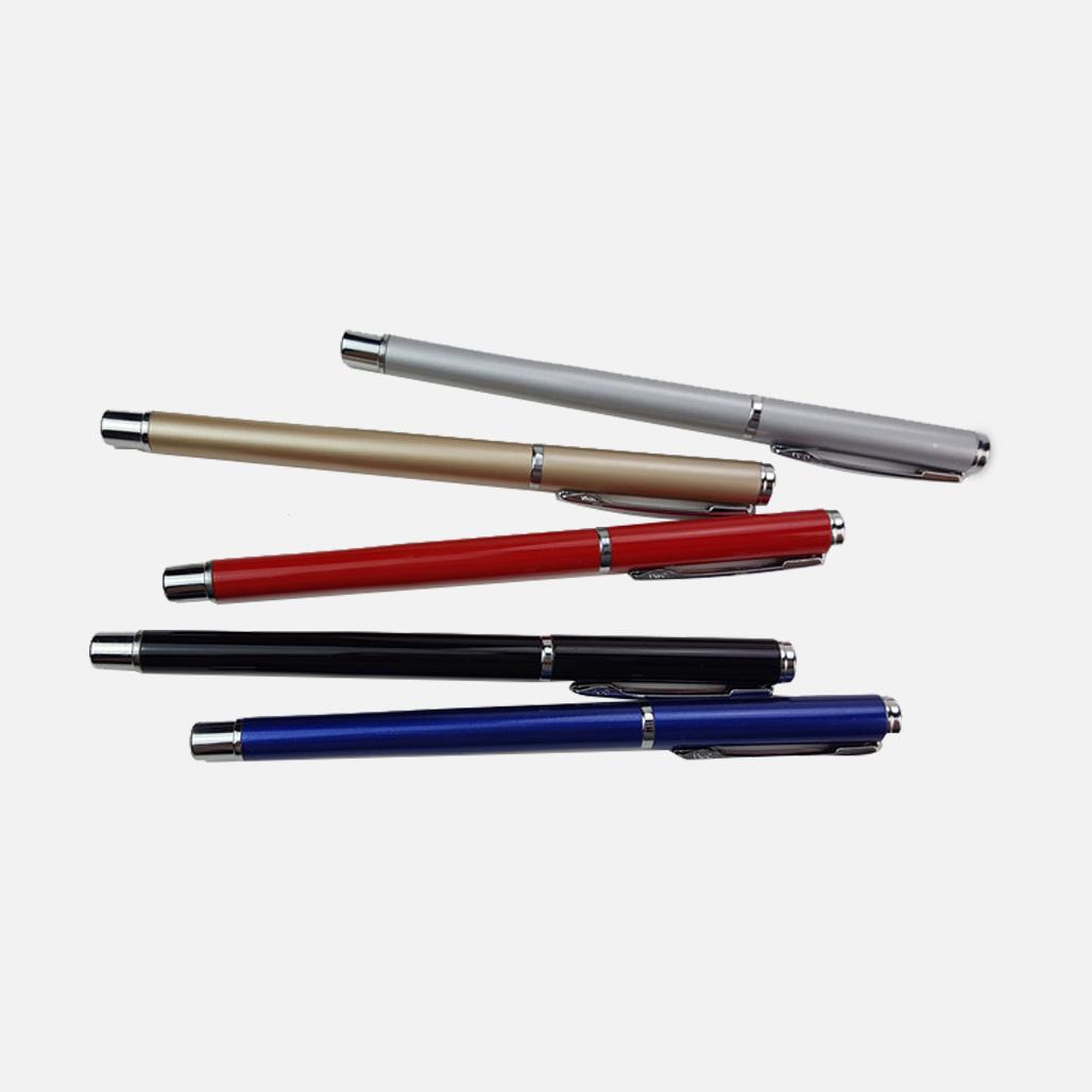 Alum. Gel Ink Pen 1