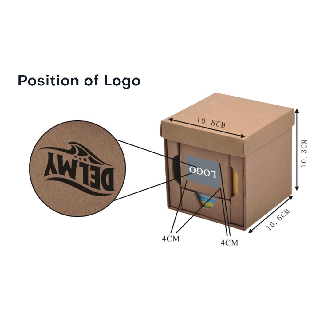 Folding Cube Desk Holder 6