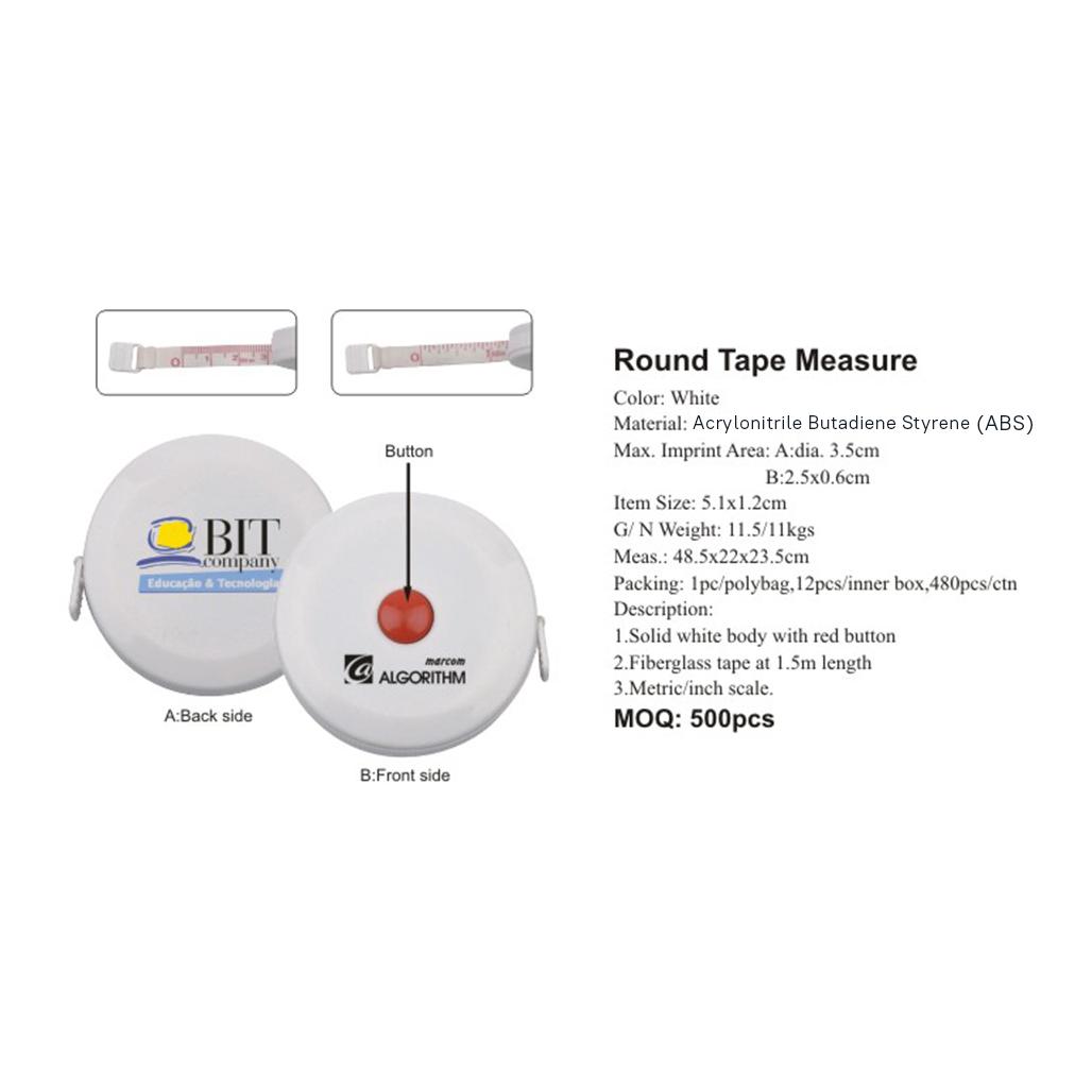 Round Tape Measure 4