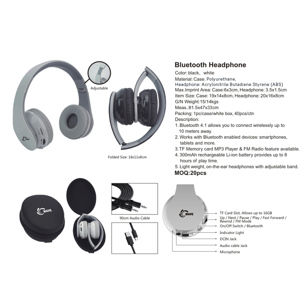 Bluetooth Headphone 4