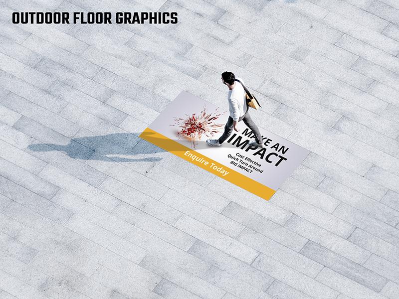 Floor Graphic R 12 Outdoor