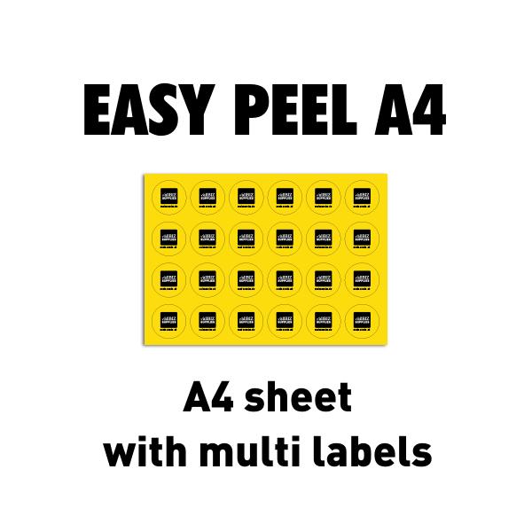 Easy Peel A4