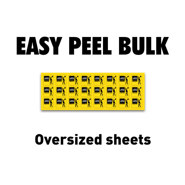 Easy Peel Bulk Labels