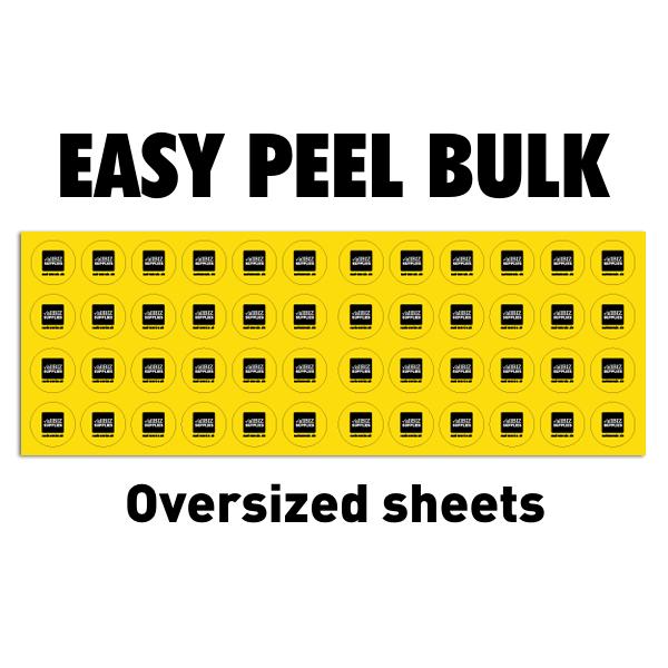 Easy Peel Bulk Labels
